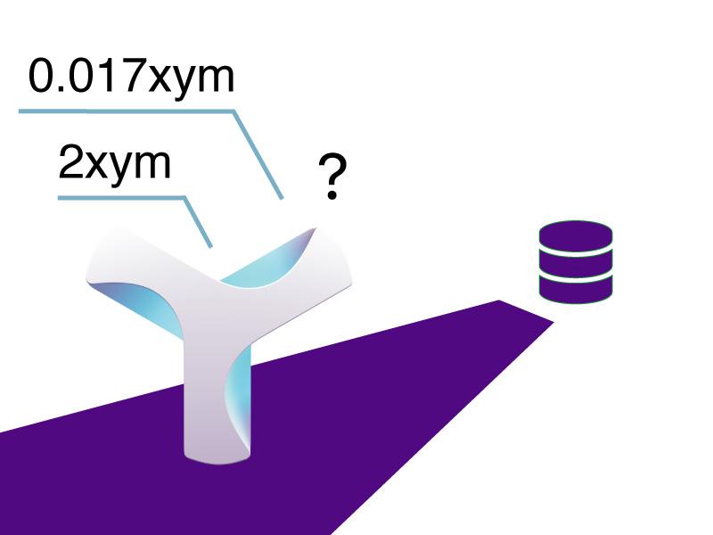 Nem Symbolのトランザクション手数料をより正確に計算する